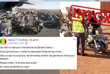 L'armée française a-t-elle livré des motos à des terroristes au Mali ? Attention intox…