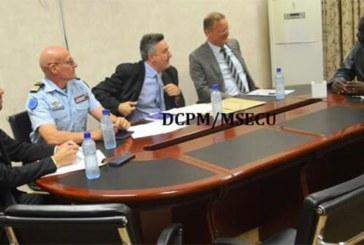 L'ambassadeur de l'Union Européenne chez le ministre de la sécurité