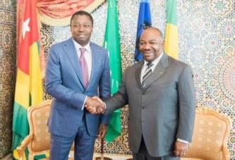 Gabon-Togo: Ali Bongo reçoit une nouvelle fois Faure Gnassingbé à Libreville