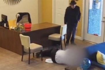 Vidéo : un Américain de 93 ans tire sur le directeur de l'agence immobilière après l'inondation de sa maiso