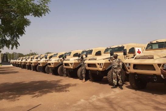 L'UE offre 13 blindés militaires aux bataillons maliens de la Force G5 Sahel