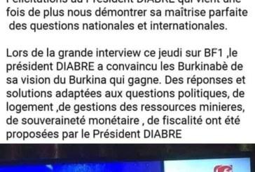 Zéphirin Diabré félicité par l'Onatel sur sa page Facebook: La société présente ses sincères excuses