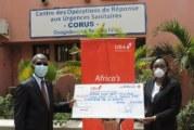 COVID 19: La fondation UBA met plus de 87 millions dans la cagnotte