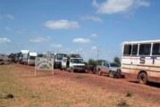 Suspension du trafic routier interurbain au Burkina Faso : La Fédération nationale des acteurs du transport routier suspend le contrat de travail des employés