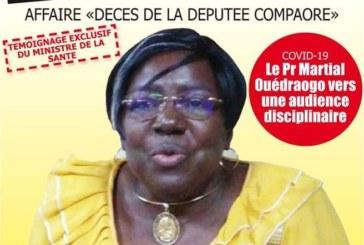 Témoignage exclusif du Pr Claudine Lougué, ministrede laSanté: «On m'a fait mentir à l'Assemblée nationale»