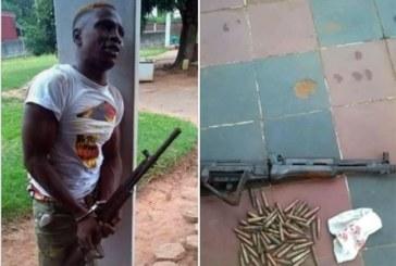 Côte d'Ivoire : Un braqueur Béninois arrêté en Côte d'Ivoire avec une arme Kalachnikov et 26 minutions