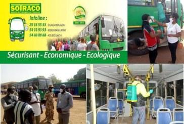 Reprise du transport Urbain:La SOTRACO en phase avec les mesures barrières dictées par le Ministère des Transports, de la mobilité urbaine et de la sécurité routière