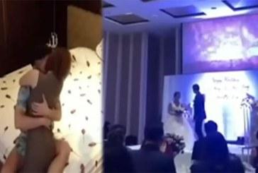 Il enregistre sa petite amie infidèle avec son beau-frère et diffuse la vidéo le jour de son mariage