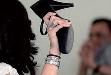Une jeune femme frappe son compagnon parce qu'il ne veut plus se marier avec elle