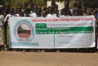 Cinquantenaire de l'école A de Bagaré:  Hommage aux pionniers, regard vers l'avenir