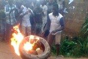 Photos | Une femme soupçonnée d'être sorcière brûlée vive
