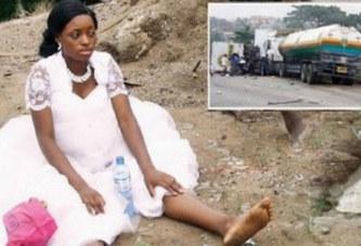 Nigeria : Victime d'un accident, une mariée privée de sa lune de miel à Lagos