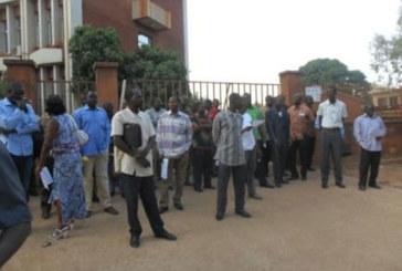 Ouagadougou: un syndicat bloque l'accès du ministère de l'Education nationale