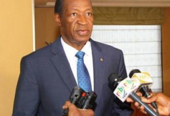 «Le Burkina a progressé même ceux qui sont aveugles dans le noir le savent», Blaise Compaoré