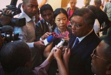 Madagascar : Rajaonarimampianina donné vainqueur, Robinson va déposer trois requêtes pour fraudes