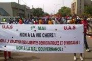 Les syndicats burkinabè réclament la liberté démocratique et la fin de la vie chère