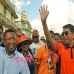 Madagascar : Andry Rajoelina passe le pouvoir à Hery Rajaonarimampianina