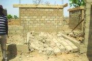 Effondrement de maisons sur le site de relogement de l'aéroport de Donsin :  La mise au point de la maîtrise d'ouvrage