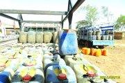 Vente illicite de carburant:   Plus de 10 000 litres d'essence saisis à Ouagadougou