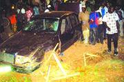 Accident de la circulation à Tanghin: 6 blessés graves, des dégâts matériels