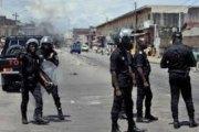 Abidjan: Un policier et un gendarme se tabassent
