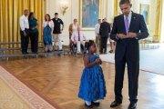 Un mot d'excuse pour l'école signé Barack Obama