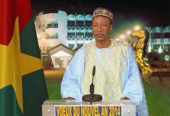 NOUVEL AN 2014: MESSAGE DE SON EXCELLENCE MONSIEUR BLAISE COMPAORE, PRESIDENT DU FASO
