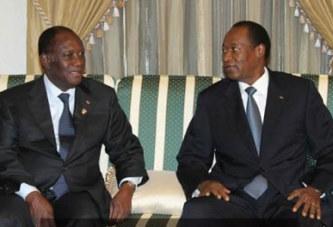 Blaise Compaoré à Abidjan: à la recherche de solution auprès de Ouattara?