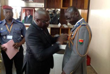 Le colonel Boureima Ouédraogo élu dans l'ordre national de côte d'ivoire