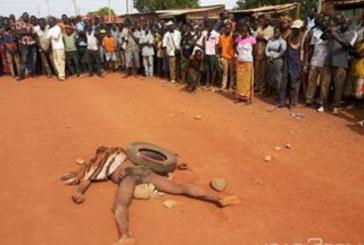 Koudougou: Un homme lynché à mort pour disparition de sexe