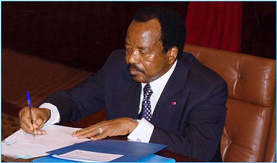 Faux prétexte pour la prorogation du mandat des députes au Cameroun: L'Ong Un Monde Avenir recadre Paul Biya
