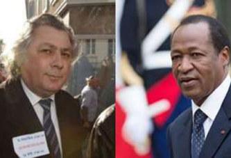 Burkina – France : Blaise Compaoré et le sénateur Lorgeoux