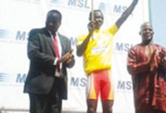 TOUR DU FASO:    Abdoul Aziz Nikiéma grand vainqueur