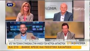 Γιώργος Χριστοφορίδης-Μέτρα/Αντίμετρα, απλά και ξεκάθαρα Σχηματίστε τη δική σας άποψη-Οχι των βαρώνων των ΜΜΕ