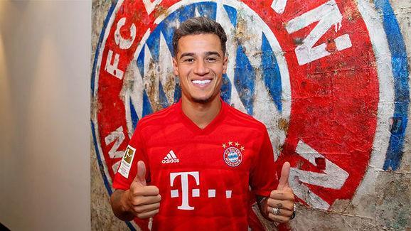Coutinho prêté au Bayern Munich