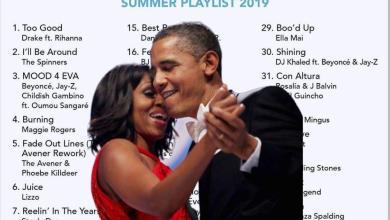 Photo of La playlist d'Obama pour cet été