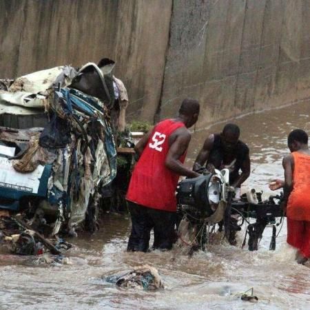 28 morts au Ghana et plusieurs maisons effondrées, suite à des pluies torrentielles