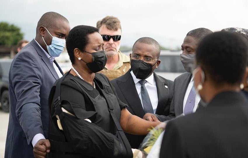 Ayiti-Aktyalite: Martine Moïse retounen nan peyi etazini pou l kontinye ak tretman li