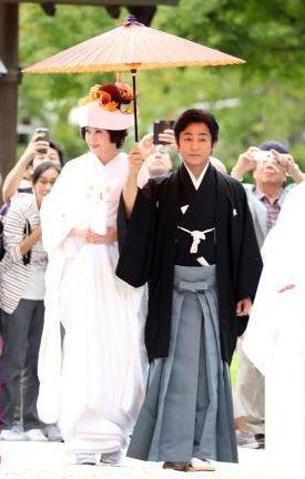 「藤原紀香 愛之助 結婚式」の画像検索結果