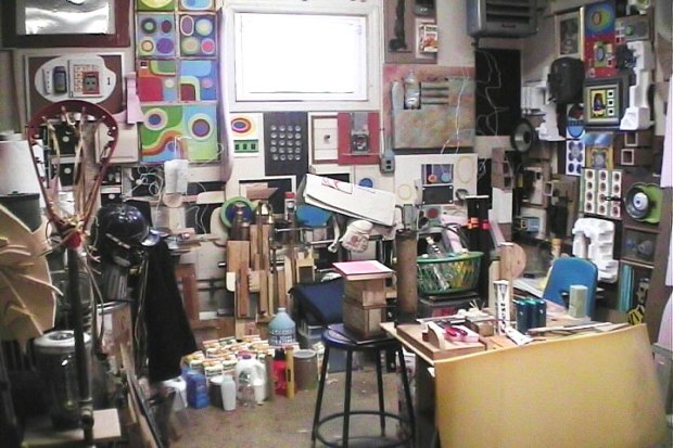 an image of my old art studio from 2003