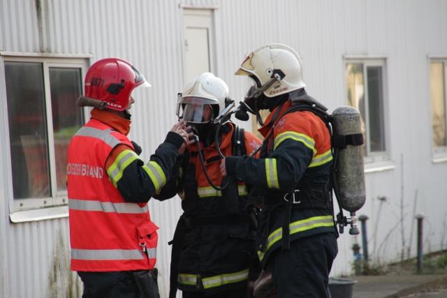 En kondiløber opdagede fredag eftermiddag en brand, som formentlig er påsat. Foto: Rolf Larsen.