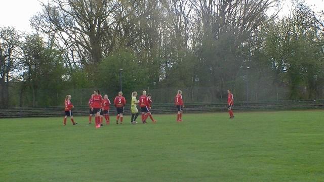 Rødovre spillede en målløs kamp mod FC Damsø i kvinders 1. division slutspil. Foto: Steffen Petersen.