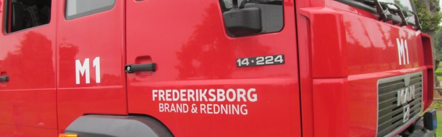 Frederiksborg Brand og Redning. Arkivfoto: Rolf Larsen