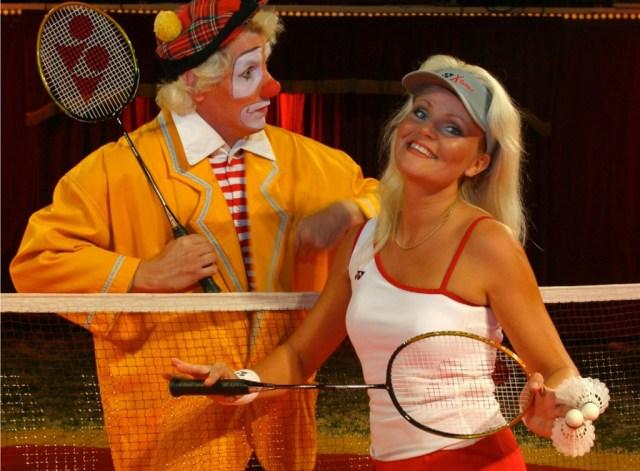 Clownen BonBon can opleves i Cirkusmuseet i hele vinterferien. PRfoto.