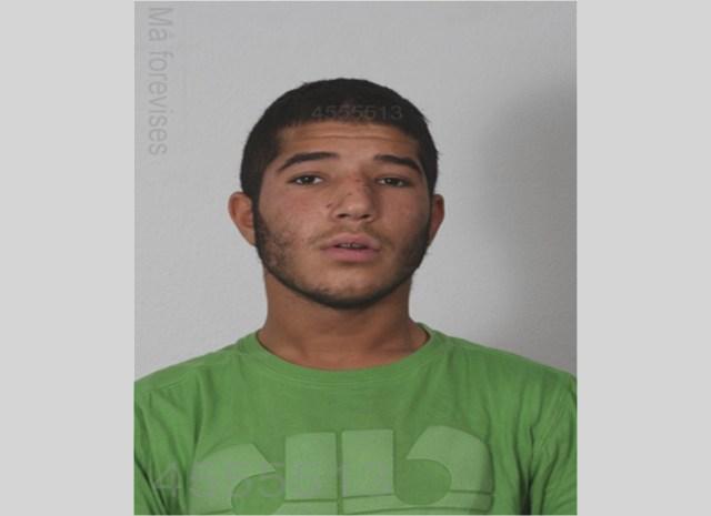 Den eftersøgte Omar Adnan Qundus - Billedet er fra 2011. Foto: Politiet
