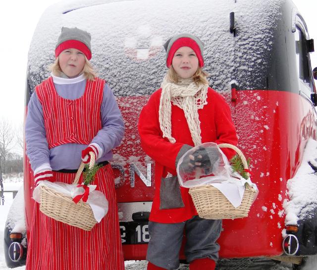 Der er masser af hyggelig gammeldags jul i Andelslandsbyen Nyvang ved Holbæk. PR foto.
