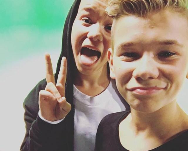 De norske pop-tvillinger Marcus & Martinus indtager torsdag aften Plænen i Tivoli. PRfoto.