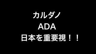 ADAカルダノ が日本を重要視!【ウメの仮想通貨しゃべり場】