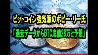 ビットコイン強気派のボビー・リー氏「過去データからBTC底値28万と予想」年明け相場転換で価格回復なるか【仮想通貨】