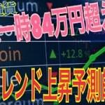 仮想通貨:ビットコイン一時80万円超え! 5月トレンド上昇予測が的中しました♪ 今後の市場予測の参考にどうぞ!【暗号資産】